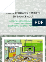 USO DE CELULARES E TABLETS EM SALA DE