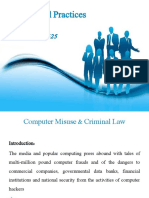 Week 10 Computer Misuse and Criminal Law.ppt