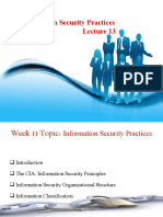 Week 13 Information Security Practices .ppt