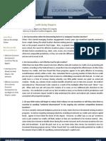 BLS & Co - Economic Development Incentives Q&A, 2010