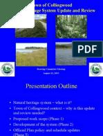 Natural Heritage Presentation