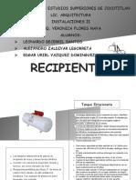 RECIPIENTES FICHAS TECNICAS
