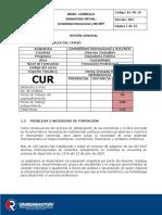 Curriculo 2016 Contabilidad internacional NIC NIIF