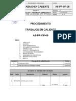 AS-PR-OP-09 REV.C Procedimiento de Trabajos en Caliente