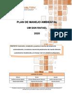 Plan de Manejo Ambiental (PMA) - TIME TELEMETRY