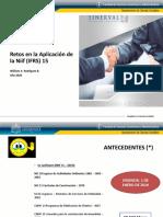 IFRS 15 Ingresos por actividades ordinarias contratos con clientes