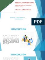 PRESENTACIÓN  PRIMERA CLASE DE FUNDAMENTOS E ADMON..pptx