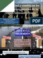 Clase N°10 Migración en América Latina