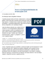 ConJur - Neubauer_ A (im)possibilidade do acordo de não persecução civil