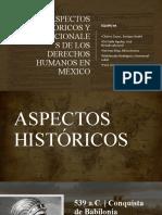 ASPECTOS HISTÓRICOS Y CONSTITUCIONALES DE LOS DERECHOS HUMANOS