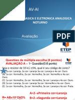 ELETRICIDADE BASICA E ELETRONICA ANALOGICA-AI-11-10-2019-NOTURNO.pptx