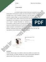 Antecedentes - Selección Del Sistema de Electroválvulas