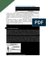 ÉCNICAS EMPLEADAS EN PSICOLOGÍA CLÍNICA