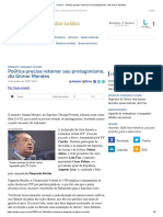 ConJur - Política precisa retomar seu protagonismo, diz Gilmar Mendes.pdf
