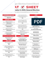 The Stranger Election Control Board's Printable Cheat Sheet