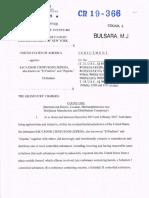 Salvador Cienfuegos Zepeda Indictment