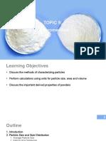 Topic 9 - Micromeritics copy