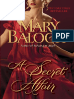 A Secret Affair by Mary Balogh (Excerpt)