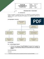 PC-SA-005 Organización y funciones