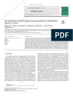 The production of furfural directly from hemicellulose in lignocellulosic biomass& A review
