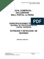 EETT Extincion y Deteccion Incendio