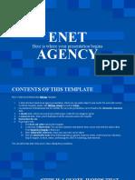 Enet Agency by Slidesgo