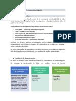 Unidad 2 Estructura del protocolo de Investigación
