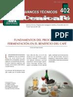 avt0402 proceso de fermentación del café