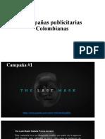 Campañas publicitarias Colombianas