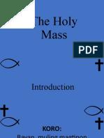 sunday masss powerpoint