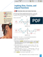 Lecture Notes on Graphs of Trigonometric and Circular Functions