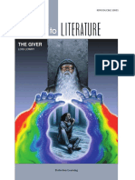 Literature ACTIVITIES FOR the Giver