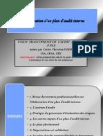 Elaboration Du Plan Audit