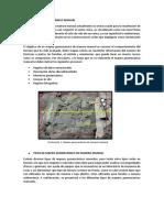 Mapeo Geomecánico Manual