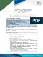 Guía de actividades y rúbrica de evaluación Unidad 1– Fase  2 – Identificar las características como emprendedor.pdf