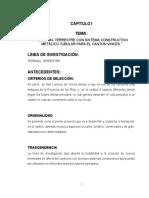 TERMINAL TERRESTRE CON SISTEMA CONSTRUCTIVO METÁLICO TUBULAR PARA EL CANTON VINCES
