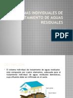 SISTEMAS INDIVIDUALES DE TRATAMIENTO DE AGUAS RESIDUALES