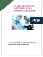 CLINICA MEDICOS CRISTIANOS SOLIDARIOS SUC