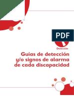 18.7 Guías de Detección y Signos de Alarma