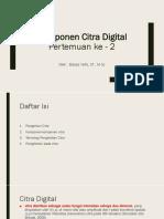 PCD - Pertemuan ke 2