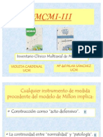 MCMI-III-Madrid