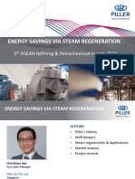 12-Piller-Energy savings via steam regeneration
