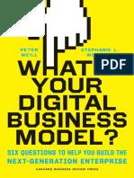 Libro Cual es su Modelo de Negocio Digital - Peter Weill