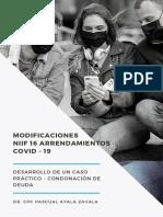 MODIFCACIONES NIIF 16 - CASO PRACTICO