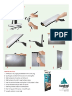 Pull-Up Banner Assembly