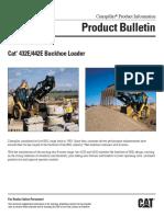 (CLM076) Cat 432E & 442E Product Buletin