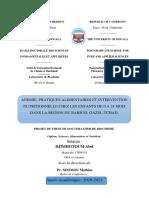 PROJET DE THESE DE DOCTORAT PHD RESUME 3