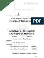 IED en mexico
