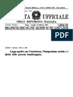 LEGGE 5 febbraio 1992, n. 104 Legge quadro .pdf
