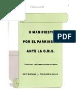 II Manifiesto Parkinson OMS